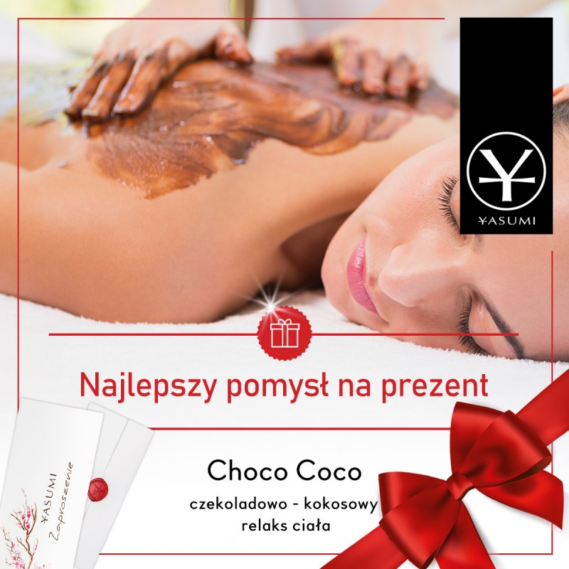 Choco Coco - czekoladowo - kokosowy relaks ciała - bon podarunkowy YASUMI