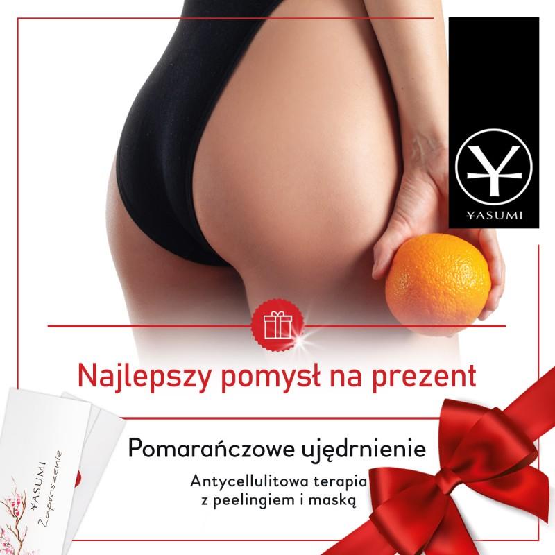 Pomarańczowe Ujędrnienie - antycellulitowa terapia z peelingiem i maską