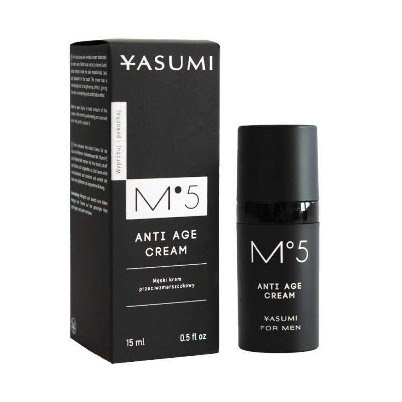 M°5 Anti Age Cream – męski krem przeciwzmarszczkowy 15ml