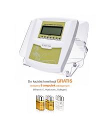 Peeling kawitacyjny - Skin Scrubber PRO YASUMI + 9 ampułek GRATIS