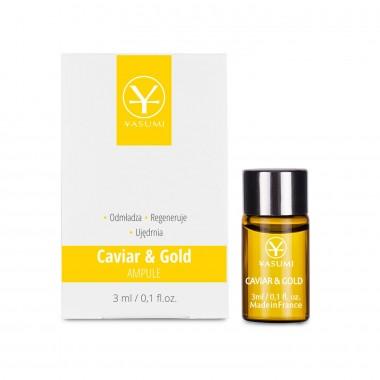 Ampułka ze złotem i kawiorem – Caviar&Gold