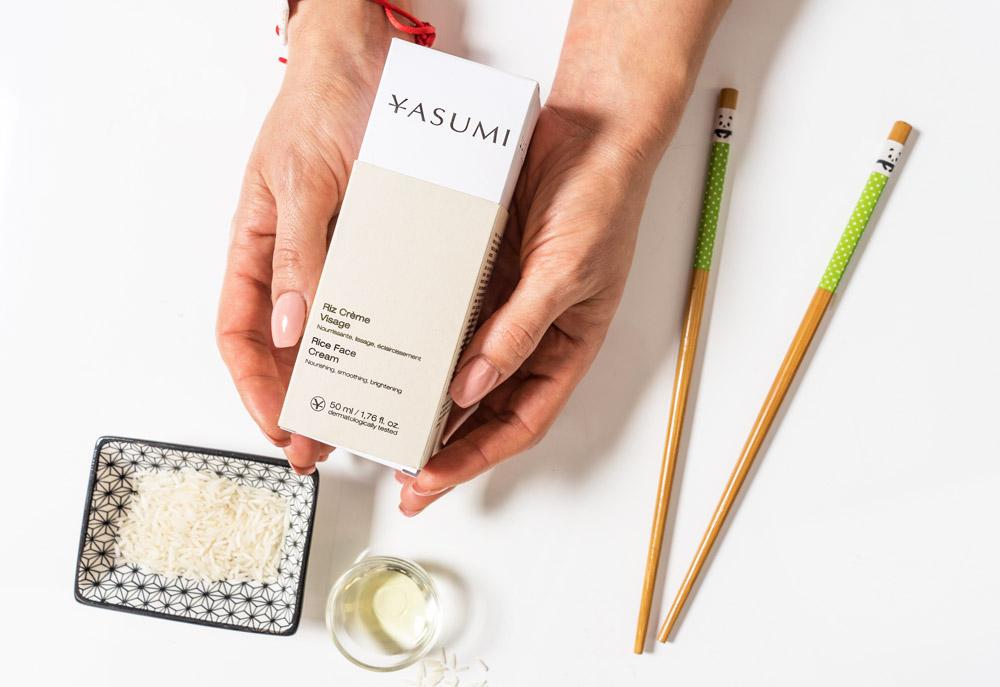 Rice Face Cream - bestseller Yasumi! Odżywczy krem na bazie NATURALNYCH ekstraktów ryżowych!