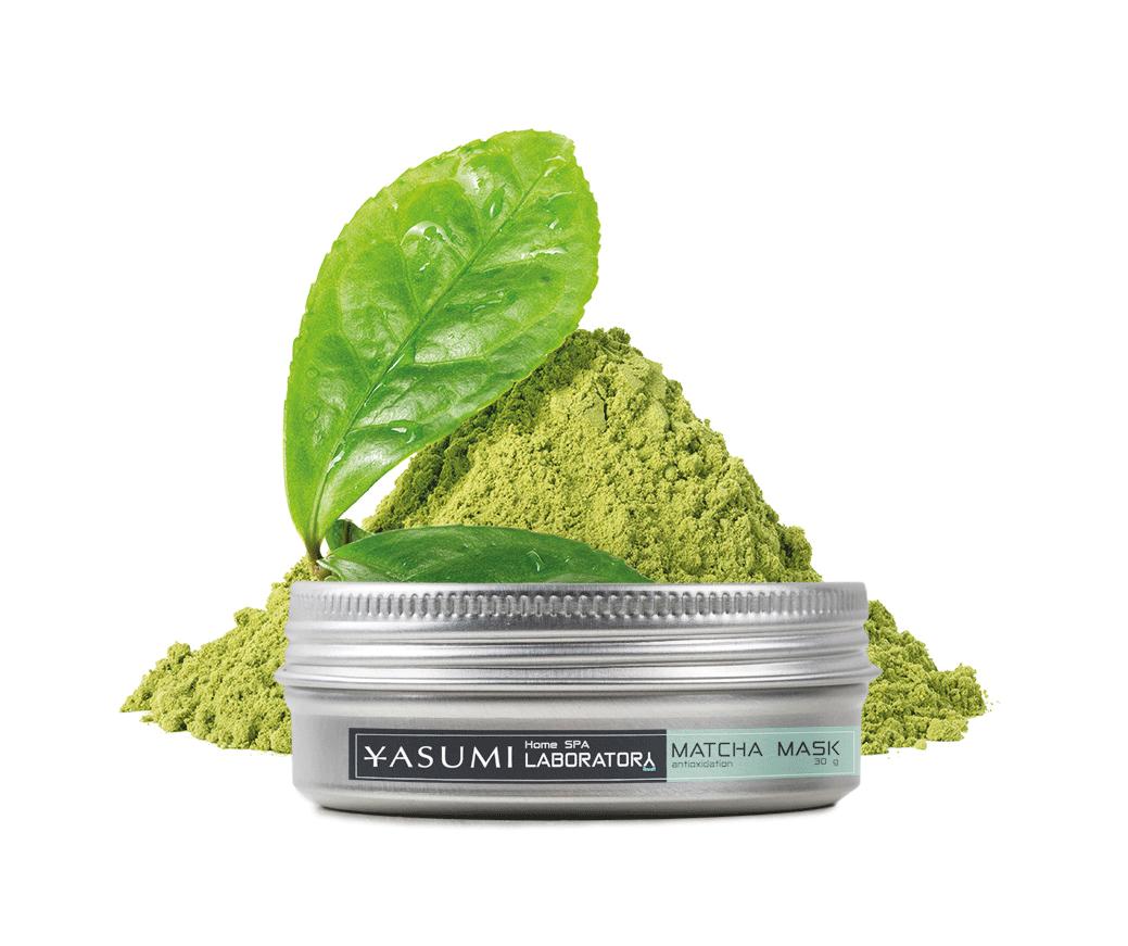 MATCHA MASK maska z zieloną herbatą matcha