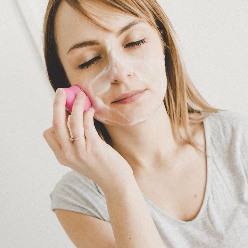 mini szczoteczka soniczna do oczyszczania twarzy nuno xs